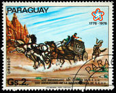PARAGUAY - CIRCA 1976: A stamp printed in Paraguay shows , circa 1976 — Stock Photo