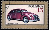 POLAND - CIRCA 1987: A stamp printed in Poland shows Lux-Sport - 1936, circa 1987 — Stock Photo