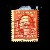 USA - CIRCA 1928: A stamp printed in USA shows President George Washington, circa 1928 — Stock Photo