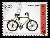 VIETNAM - CIRCA 1988: A stamp printed by Vietnam shows bicycle Premier, circa 1988 — Stock Photo