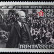 USSR - CIRCA 1968: a stamp printed in the USSR shows anniversary of soviet army, circa 1968 — Stock Photo