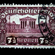 Stock Photo: Osterreich stamp