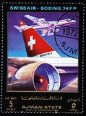 AJMAN - CIRCA 1972 — Stock Photo