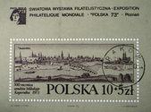 POLAND - CIRCA 1973 — Stock Photo