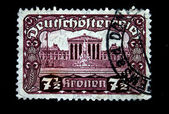 Osterreich stamp — Stock Photo
