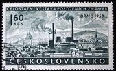 Tschechoslowakei - ca. 1958 — Stockfoto