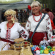 Stock Photo: Souvenir sellers from Poltava