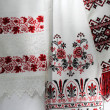 Stock Photo: Ukrainiembroidered towels