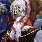 Woman's headdress Don Cossacks — Stock Photo