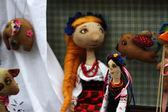 Ukranian girl doll — Stock Photo