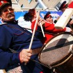 Cossack ensemble performance — Stock Photo