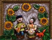 Russian souvenir — Stock Photo