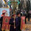 Eligious procession dedicated to the liberation of Russia from the Polish-Lithuanian invardes — 图库照片