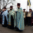 Religious procession dedicated to the liberation of Russia from the Polish-Lithuanian invardes — Foto Stock