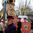 Religious procession dedicated to the liberation of Russia from the Polish-Lithuanian invardes — Stok fotoğraf
