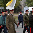 Religious procession dedicated to the liberation of Russia from the Polish-Lithuanian invardes - Stock Photo