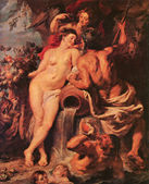 """The Union of Earth and Water"" Peter Paul Rubens — Stock Photo"