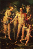 Anton Raffael Mengs, 1728 - 1779, Perseus and Andromeda, 1777 — Stock Photo