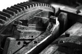 Redskap i en tryckpress — Stockfoto