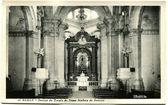 Interno del tempio di nostra signora di sameiro, braga — Foto Stock