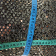 Fabric with sequins — Stock Photo