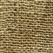 Textured sacking burlap background - Stock Photo
