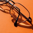 Stock Photo: Male wire-rim glasses