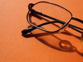 Male wire-rim glasses — Stock Photo