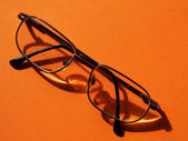 Male wire-rim glasses — Stock Photo