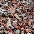Stock Photo: Broken pieces of brick
