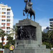 Monument Atataturk on horse — Stock Photo #37811547