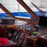 Captain's cabin of passenger ferry — Stock Photo #37811635