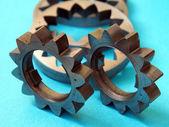 金属歯車 — ストック写真
