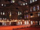 Interno della moschea sultanahmet — Foto Stock
