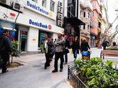 Deniz Bank, Istanbul — Foto de Stock