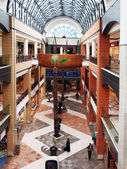 Interior of Forum Mall — Stock Photo