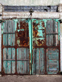 Weathered door — Stock Photo