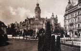 Nová radnice, lipsko, 1905 — Stock fotografie