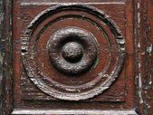 старые деревянные двери — Стоковое фото