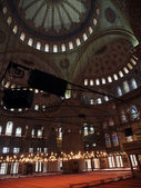 Interior of the Sultanahmet Mosque — Stockfoto