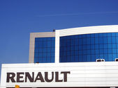 Emblem dealer Renault — Stockfoto