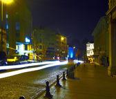 Old city at night, Istanbul, Turkey — Stock Photo
