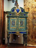 Vintage wood cabinet — Stock Photo