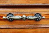 Antique door handle — Stockfoto