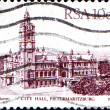 City Hall, Pietermaritzburg — 图库照片