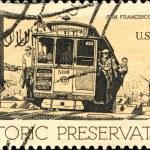 San Francisco cable car — Stock Photo #38087499