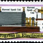 Progress in electronics — Stock Photo