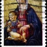 Ghirlandaio - Madonna and Child — Stock Photo