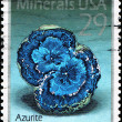 Stock Photo: Azurite