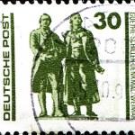 Постер, плакат: Johann Wolfgang von Goethe and Johann Christoph Frie